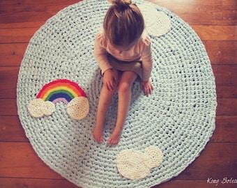 Rainbow Rug Custom Kids Rug