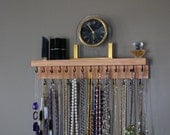 Necklace Hanger with shelf