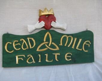 Cead Mile Failte with Chain