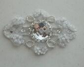 Special Listing for  Cheryl Dumlao  Champagne Applique Wedding Applique  Model:DSCN2316