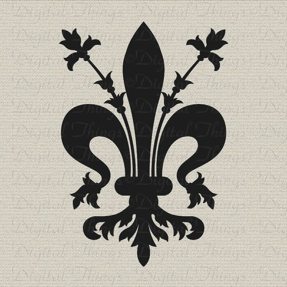 Fleur de Lis French Symbol French Decor Wall Decor Art