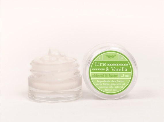 Whipped Lip Butter - Lime & Vanilla - Natural Icing for Your Lips