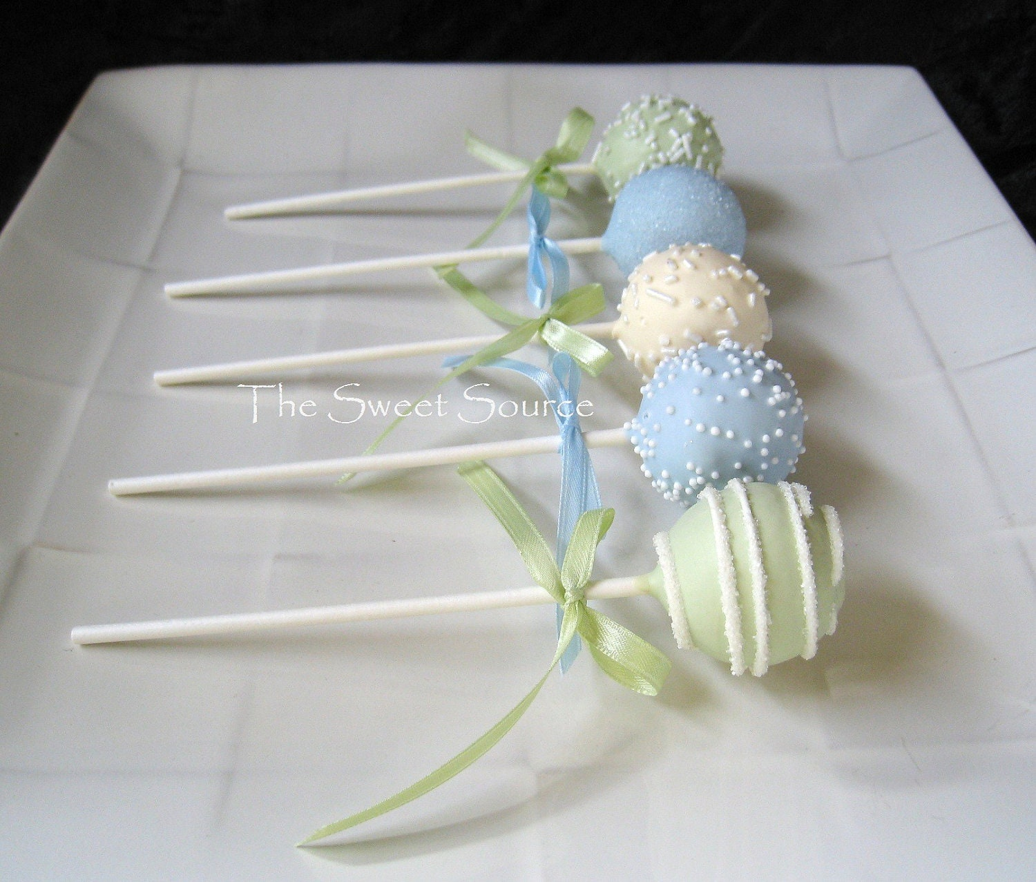 Cake Pops: Baby Shower Cake Pops Made to by ...