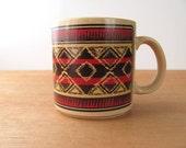 Vintage Ralph Lauren Chaps Mug Tribal Native American Designer
