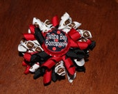 Large Tampa Bay Buccaneers Korker Bow