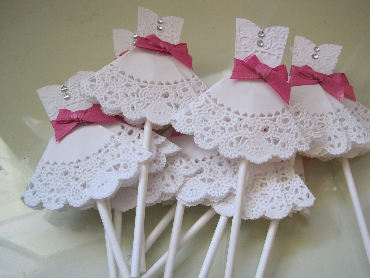 Wedding Dress Ideas: 12 Wedding Dress Cupcake Toppers