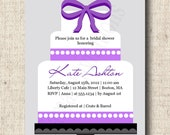 Printable Bridal Shower Invitation - Wedding Cake Design - Choose Your Color