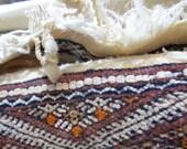 Vintage Moroccan Handira - 1226
