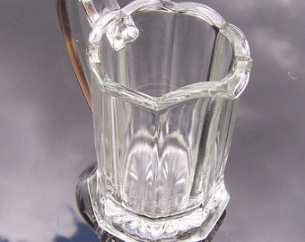 Vintage Chippendale Creamer, Pitcher,  Chippendale Glassware, Very Collectable, UK Seller