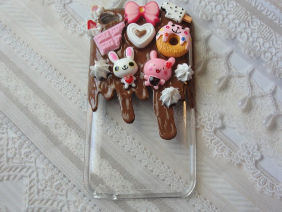 Kawaii Bunny and Sweets Ipod Touch 4g Case