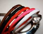 Ribbon Wrapped Hard Headband-Insert for Hair Clip