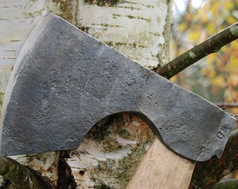 Swedish felling axe, Hand Forged, Blacksmith Made, Hand Forged Axe
