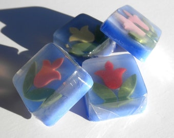 Tulip Wedding Favors Glycerin Soap