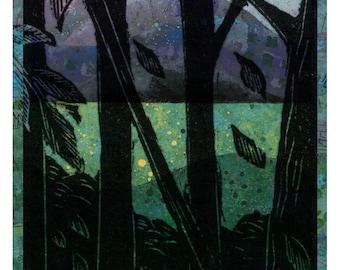 Engraving Landscape Poster 2