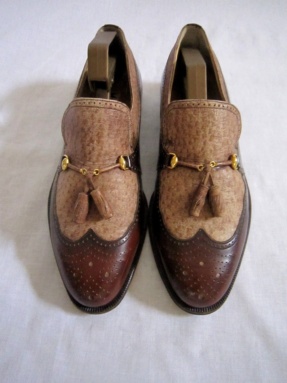 Mens Italian Bespoke Shoes Sz 9