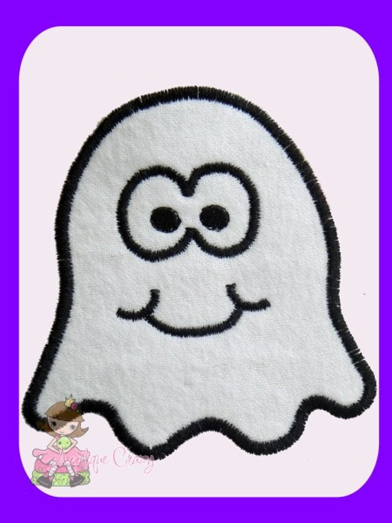 Ghost Applique design