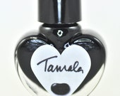Tamala Black Jelly Nail Polish 5ml Mini Bottle