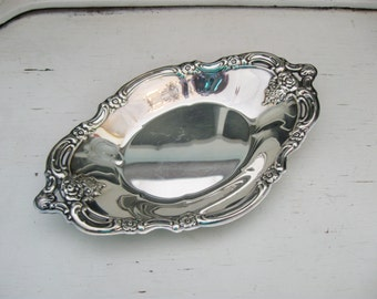 Vintage Silver Community Plate Silver Candy Dish