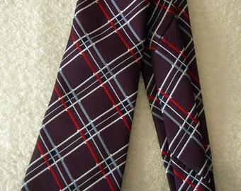 Vintage men's necktie Bon Crest