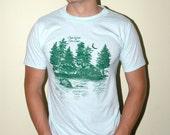 Vintage Core Camp Forest Tshirt Size M