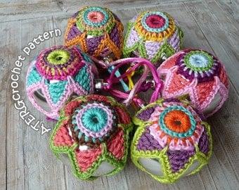 Crochet pattern CHRISTMASBALL STAR by ATERGcrochet