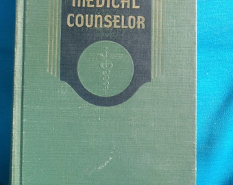 Modern Medical Counselor Eleventh Printing 1959 Huberto Swartout, MD DNB Dr PH