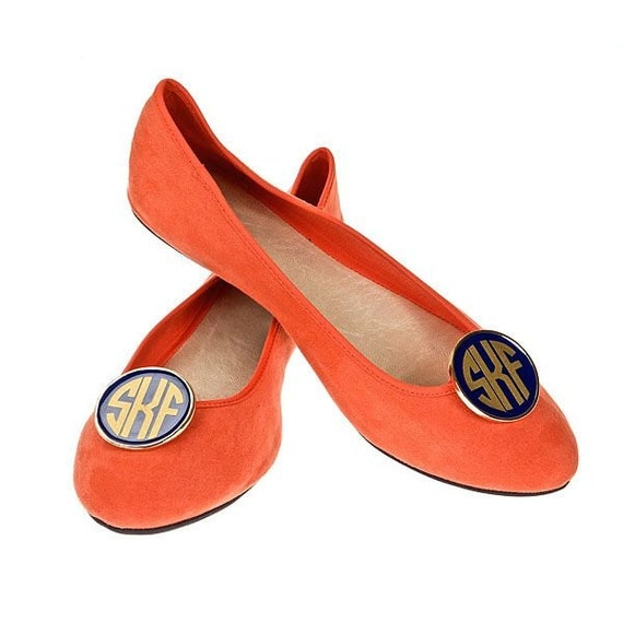 Personalized Monogram Shoe Clip