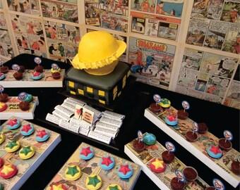 Comic Book Superhero Party Suite