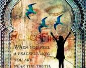 Art Print/ Near the Truth