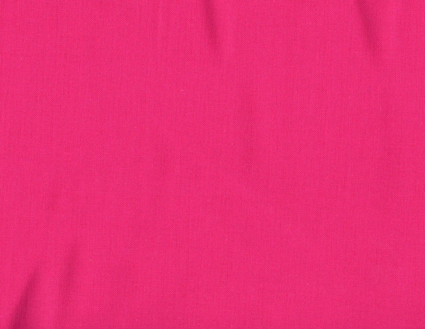 Hot pink fabric pink fabric solid pink fabric flamingo pink for Fabric cloth material