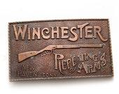 Vintage Winchester Belt Buckle