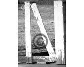 ONLY 1.99  INSTANT Letter Art - 4x6 individual photo download - printable file - digital - alphabet, nature, architectural. . Letter N - N3