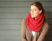CUSTOMIZABLE 40 Foot Looped Infinity Knit Scarf
