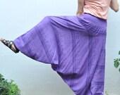 Baggy Pants... Purple.. Cotton