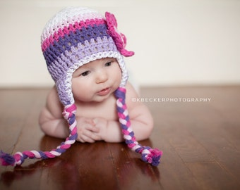 baby hat, girls hat, newborn girl hat, baby girl hat, crochet baby hat, Crochet , purple hat, crochet kids hat, baby girl hat, girls hat