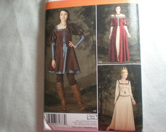 Simplicity 1773 Misses Costume sizes 14-22