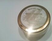 Organic # light beige  mineral powder foundation/ Goat Milk and Argan Oil Organic Mineral Foundation Makeup