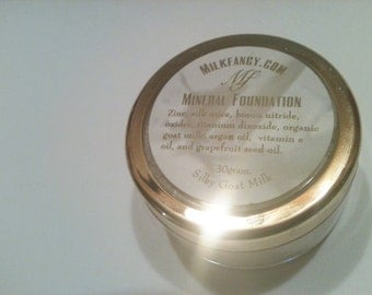 Makeup Refill,  Goat Milk and Argan Oil Mineral Foundation Makeup  & FREE SHIPPING
