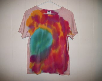 Hand-dyed Women's Tee Shirt, Size L