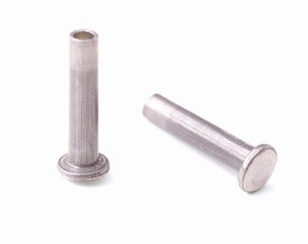 """1/16"""" Dia. 9/32"""" Long Aluminum Rivets made by CRAFTED FINDINGS"""