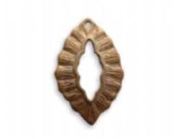 Vintaj Leaf Toggle Clasp Set