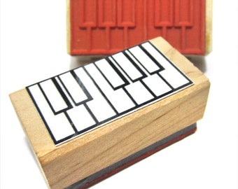 Piano Fingering and Music Theory Rubber Stamp -    A great teacher and student aid. (Keyboard, Musician, Music, Woodwind)