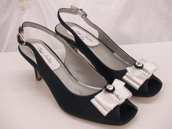 sale wedding shoes black and white wedding us size by