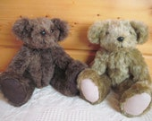 Handmade teddy bear - child friendly - made to order - 12 inch