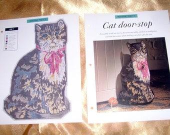 Popular items for cat door stop on etsy - Cat door stoppers ...