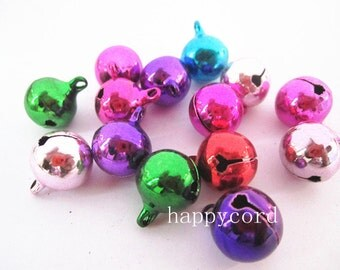 20pcs Mixed color Tinkle Bell  6mm