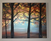 "Golden Forest 24"" x 30"" ORIGINAL"