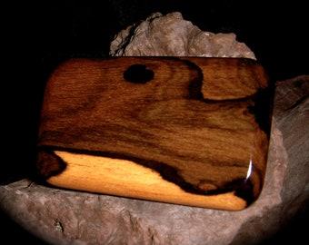 Exotic Wood Belt Buckle - Ziricote
