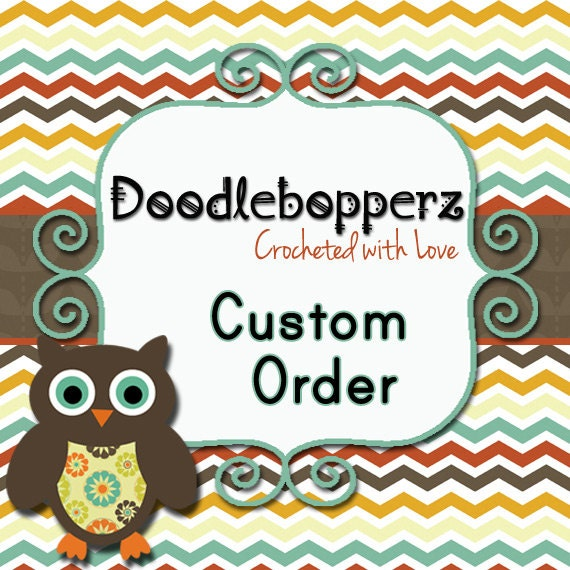 Custom Order for Andrea - 2 Newborn Hats for Baby Boy