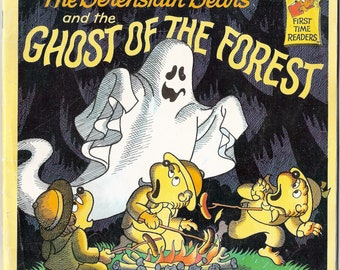 The Berenstain Bears and the Ghost of the Forest Vintage Book by Stan and Jan Berenstain